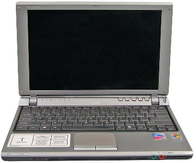 Picture of Sony Notebook Computer