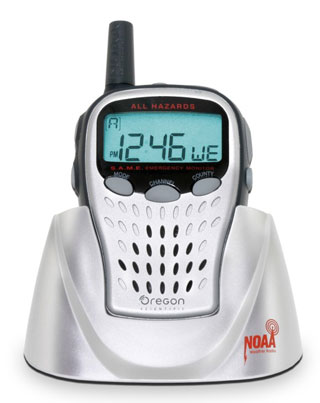 Picture of Recalled WR103NX Oregon Scientific Weather Radio