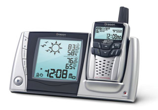 Picture of Recalled WRB308 Oregon Scientific Weather Radio